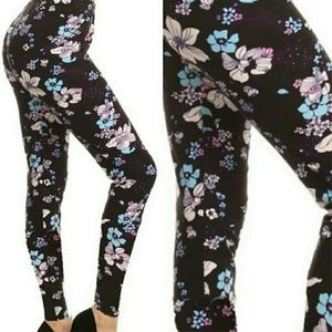 Twilight Gypsy Collective Pants - Floral print leggings