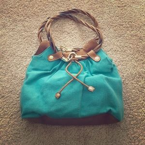 Relic Handbags - Relic Teal cloth shoulder bag