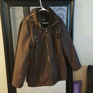 Weatherproof Jackets & Blazers - Fur lined weatherproof rain coat. Price firm.