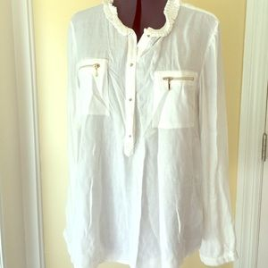 Mayoral Other - Mayoral Teen NWT 18 cream blouse