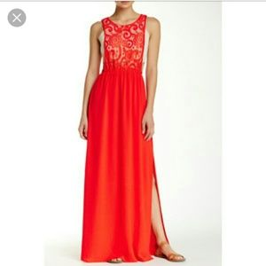 Flying Tomato Dresses & Skirts - NWT Shop Hopes |Red lace crop top maxi