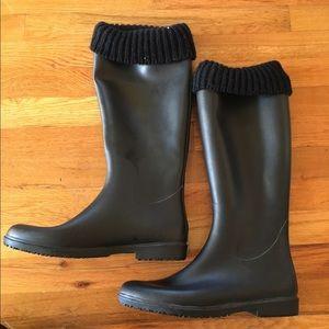 Capelli of New York Shoes - Capelli Black Rain Boots