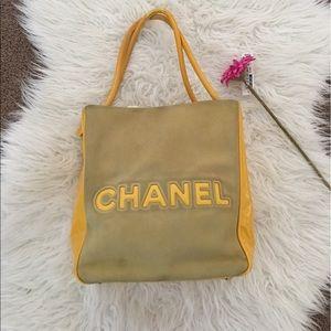 CHANEL Handbags - Chanel Camelia suede tote