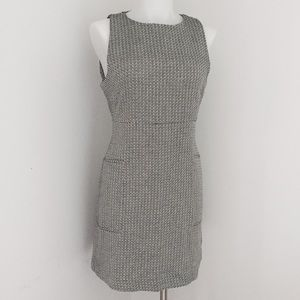Billy Reid Dresses & Skirts - Billy Reid Black White Knitted Sleeveless Dress