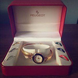 Peugeot Accessories - Vintage Peugeot Interchangeable Watch