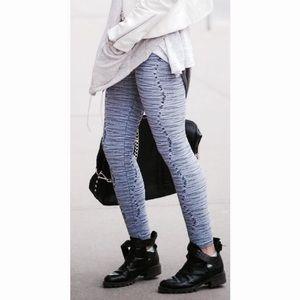 Whitney Eve Pants - Whitney Eve Ribbed Legging