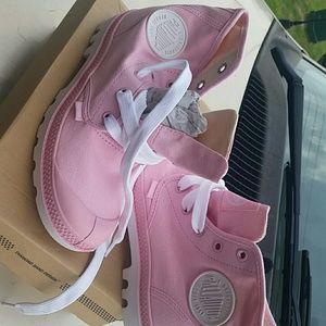 Other - Palladium pink boots size 4