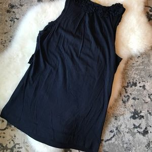Anthropologie Tops - Leifsdottir navy tank top