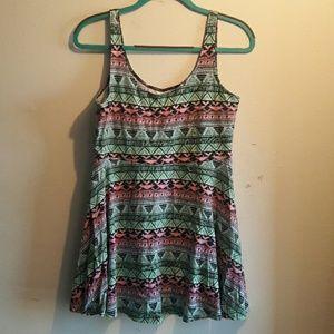 PINK Victoria's Secret Dresses & Skirts - VICTORIA'S SECRET PINK Skater Summer Dress Large