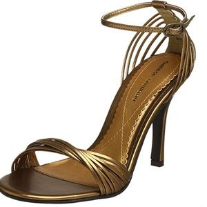 Chinese Laundry Shoes - Chinese Laundry Gold Dress Sandal