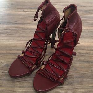 L.A.M.B. Shoes - Lamb red heels