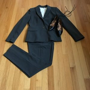 Tahari Jackets & Blazers - Grey Summer Suit by Tahari