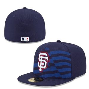 NewEra 59Fifty 4th of July SF Giants Hat 7 5/8