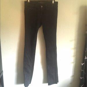 J brand size 25 dark blue skinny jeans