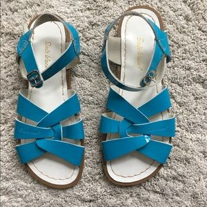 Salt Water Sandals by Hoy Shoes - Women's Salt Water Sandals in Turquoise size 8