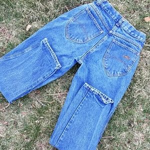 chic Denim - Chic vintage high waisted jeans