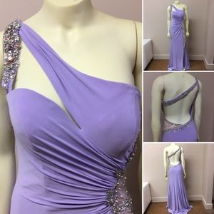 Tony Bowls Dresses & Skirts - Lilac Cutout Prom Dress- 113749