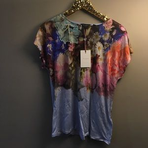Ted Baker London Tops - Ted Baker Focus Bouquet Tee