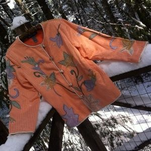 Peachy spring jacket