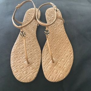 Tory Burch Marion Quilted Sandal Mica