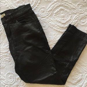 silence + noise Pants - Leather pants