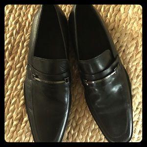 Hugo Boss Other - Hugo Boss  Men's Black Leather Dress Shoes