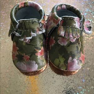 Freshly Picked Other - Floral Camo Moccasins