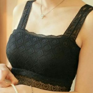 Sexy Black Lace Bralette