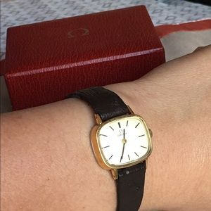 Omega Accessories - Authentic Omega leather band with box manual