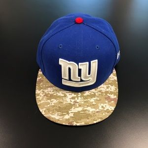 New Era Other - NFL NY Solute to Service Flat Bill Hat