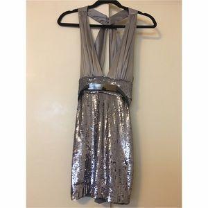 Bebe Sequin Party Dress