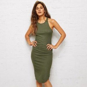 American Eagle Outfitters Dresses & Skirts - Don't Ask Why Racerback Ribbed Dress