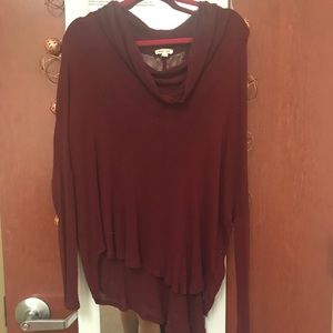 Urban Outfitters Sweaters - Urban Outfitters burgundy sweater