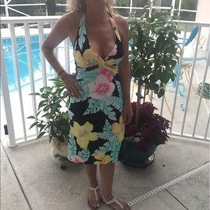 Cache Dresses & Skirts - Floral dress- Cache