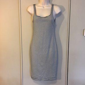 Zara Stripe Sleeveless Tank Dress Sz. M