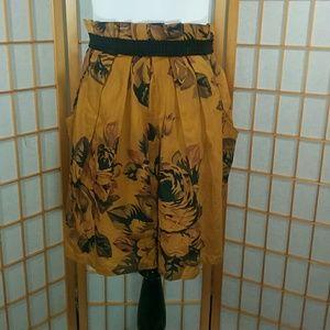 Staring at Stars Dresses & Skirts - Staring at Stars, brown floral skirt
