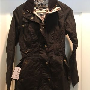 Barbour Jackets & Blazers - Barbour Holsteiner waxed cotton jacket nwt US 4
