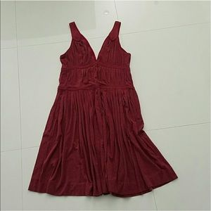 Marc Jacobs Dresses & Skirts - MARC JACOBS burgundy wine dress Large BEAUTIFUL