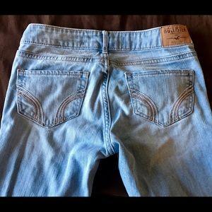 Hollister Denim - Hollister boot cut light blue jeans 00R