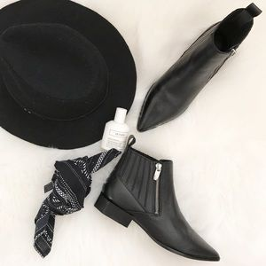 Sigerson Morrison Shoes - Sigerson Morrison Geometric Heel Ankle boots NWOT