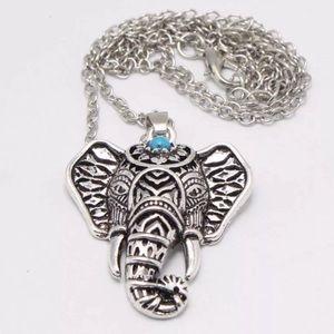 ❤BOGO Elephant charm necklace