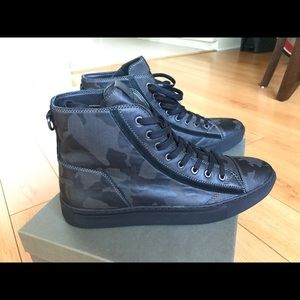 Men's All Saints Camouflage High Top Sneakers