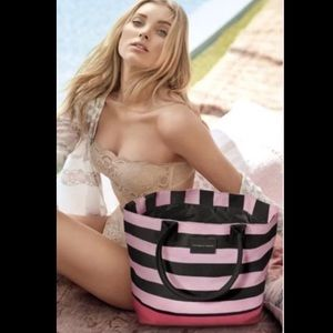 Victoria's Secret Limited Edition Pink/Black Tote
