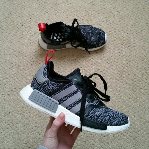 Adidas nm d r1 glitch camo black gray pack