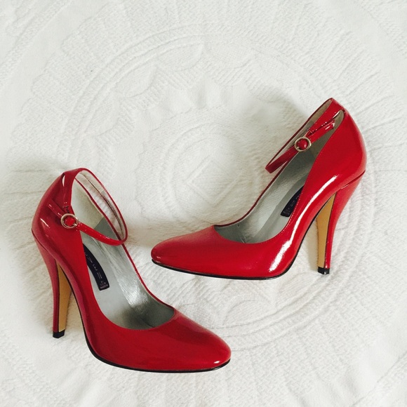 70% off Steve Madden Shoes - Beautiful red heels 7 from Love ...