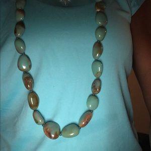 BCBG necklace and bracelet.