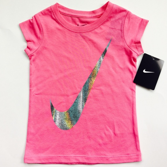 17% off Nike Other - Nike Pink Girls T-Shirt - Size 3T ...