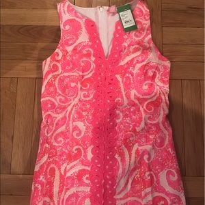 Lilly Pulitzer Ryder Shift Dress- Size 0- NWT