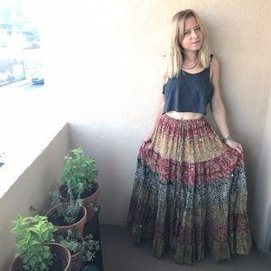 Vintage Dresses & Skirts - ✨ Made in India Bohemian Skirt Festival Hippie