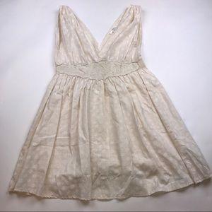 MINKPINK Dresses & Skirts - Minkpink Floral Embroidered Dress Deep-V Neckline
